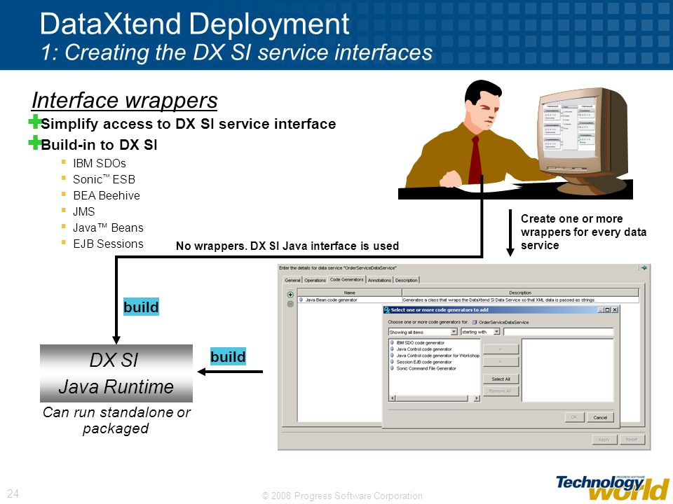 DataXtend Deployment 1: Creating the DX SI service interfaces
