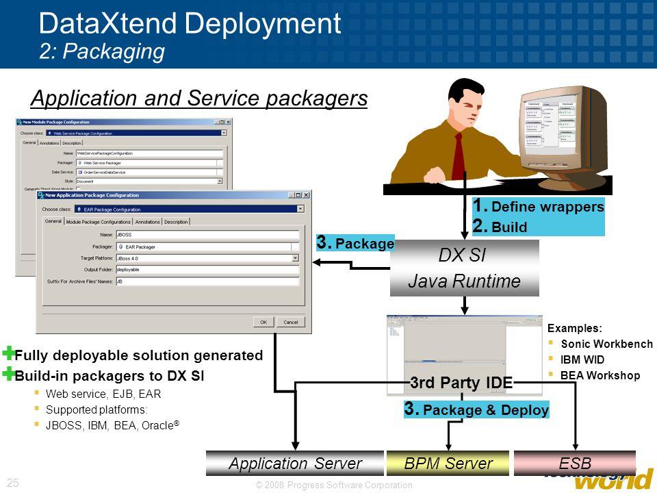 DataXtend Deployment 2: Packaging