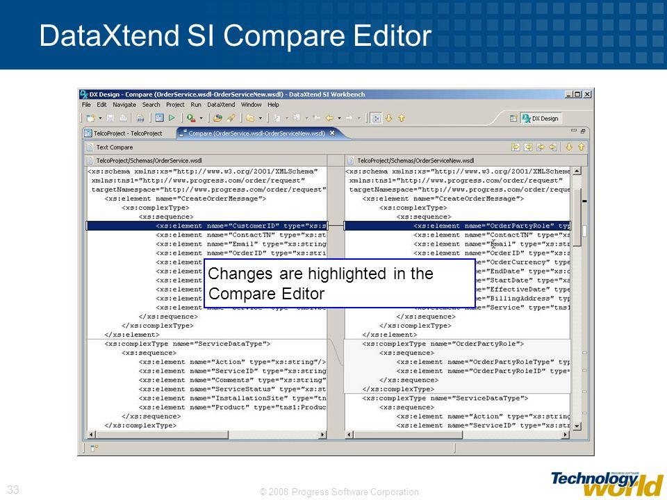 DataXtend SI Compare Editor