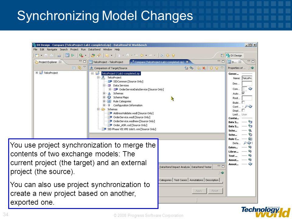 Synchronizing Model Changes