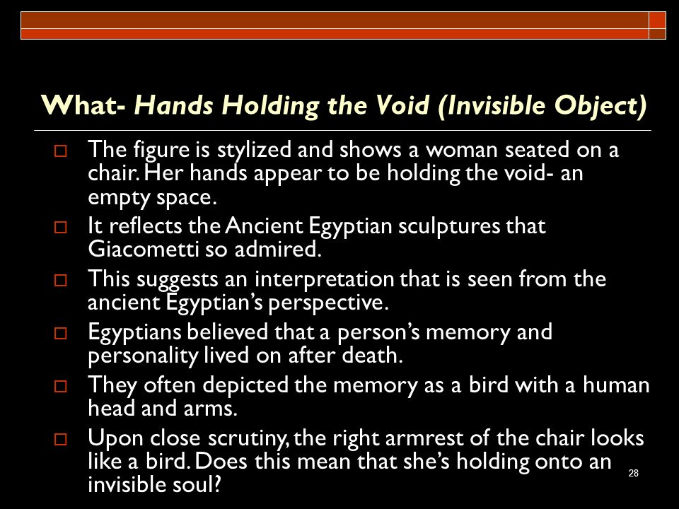 What- Hands Holding the Void (Invisible Object)