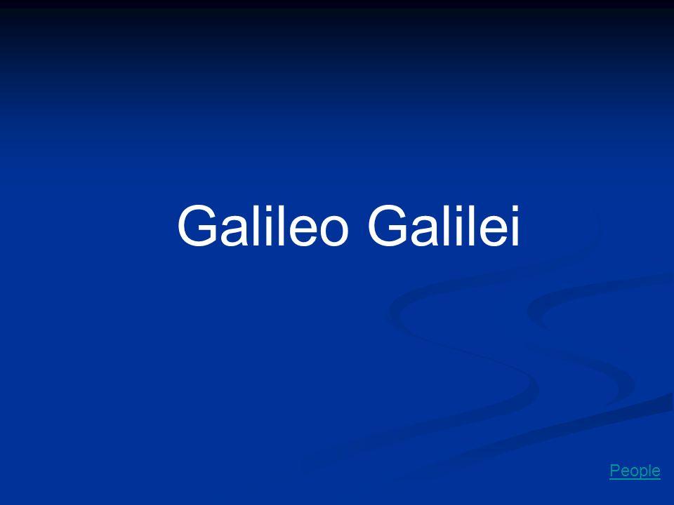Galileo Galilei People