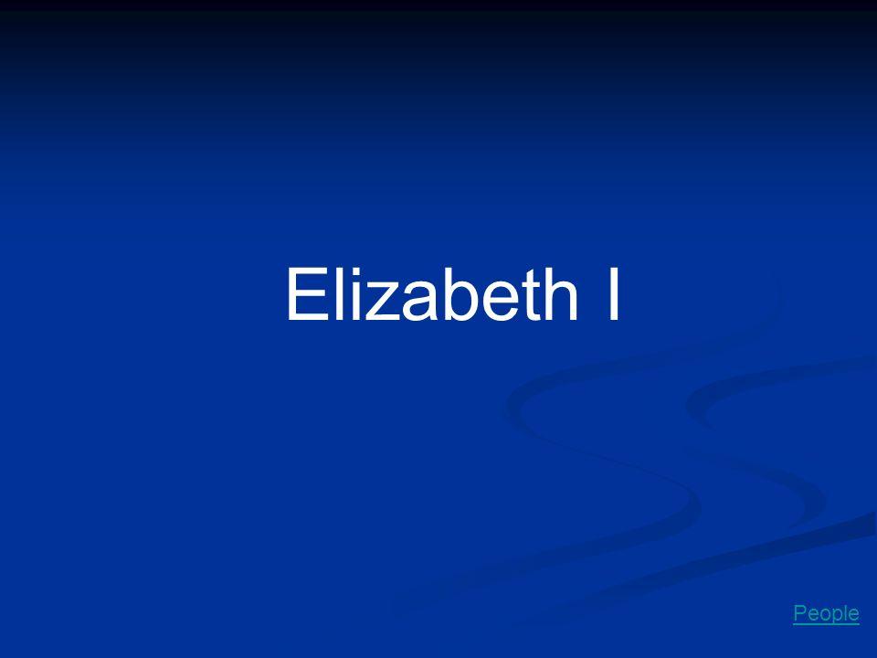 Elizabeth I People