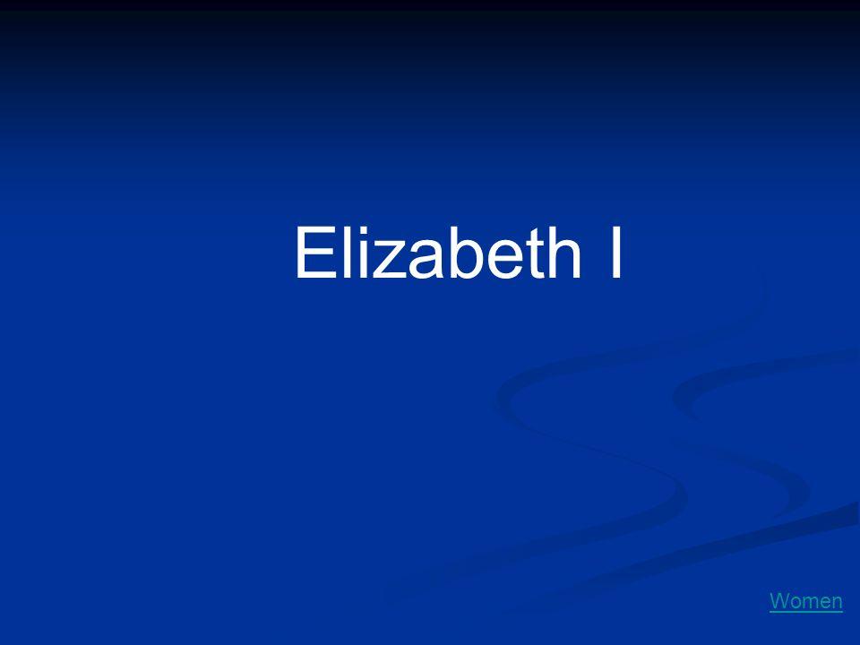 Elizabeth I Women