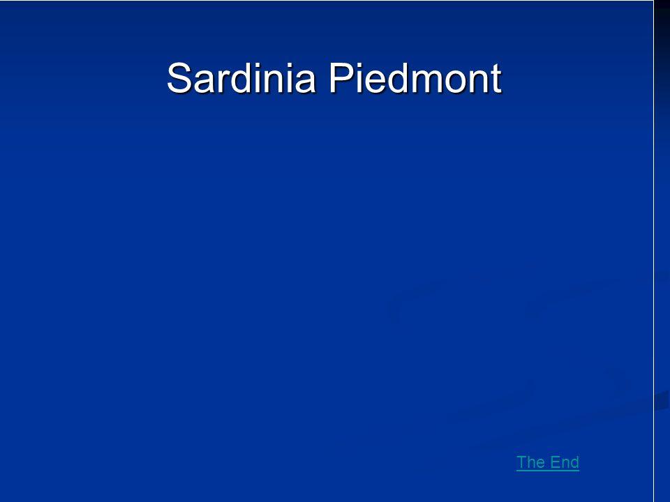 Sardinia Piedmont The End