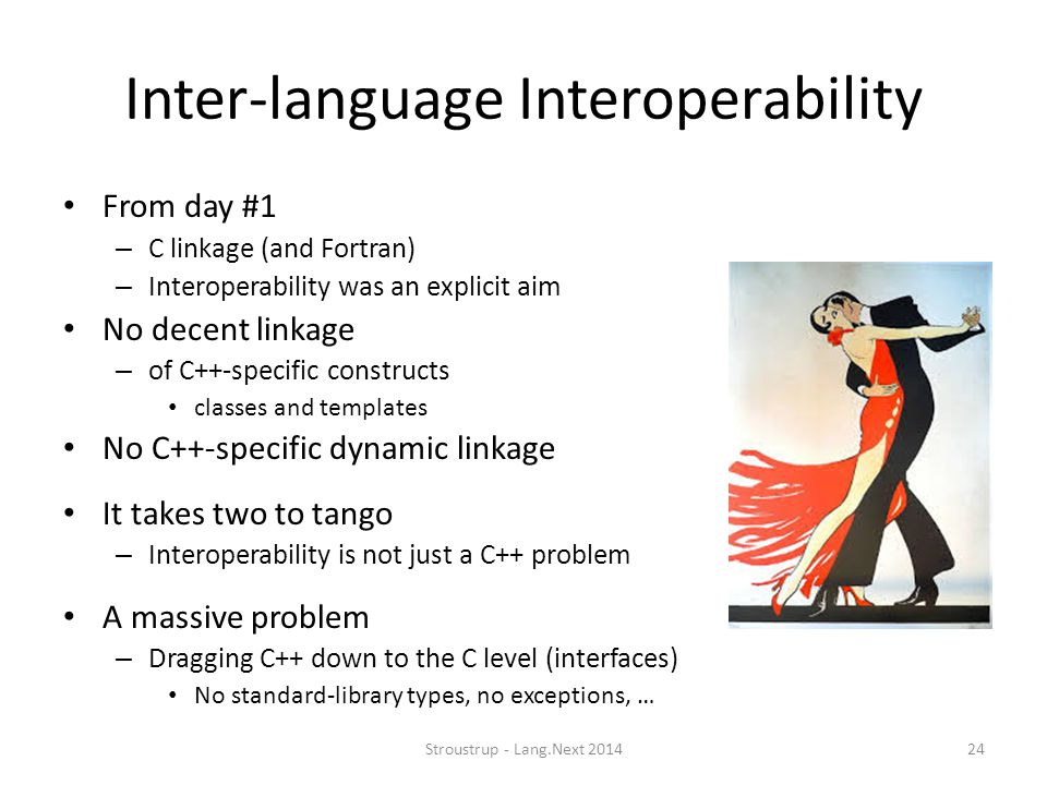 Inter-language Interoperability