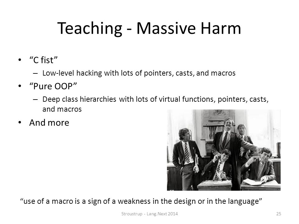 Teaching - Massive Harm