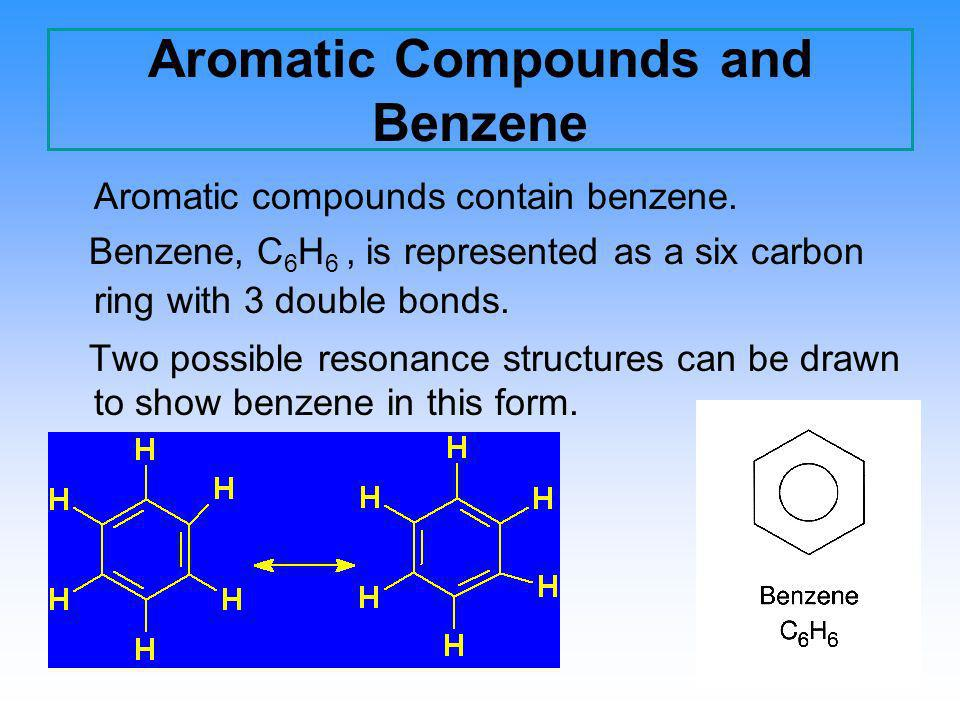 Aromatic Compounds and Benzene