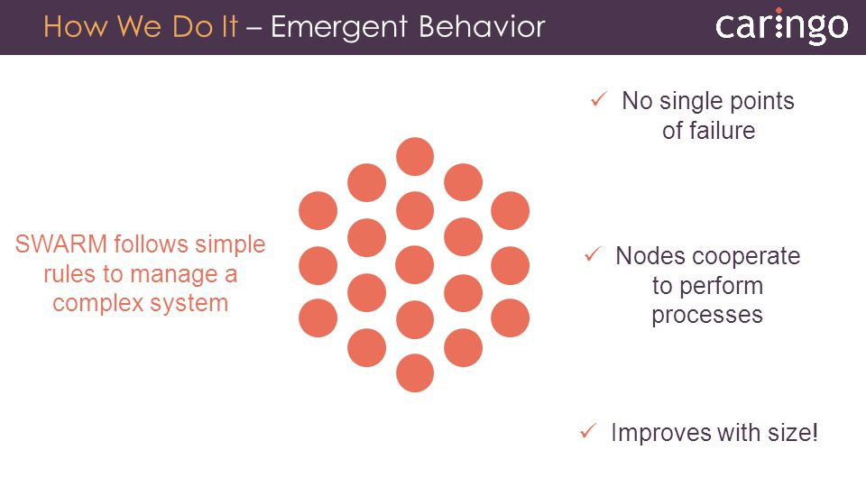 How We Do It – Emergent Behavior