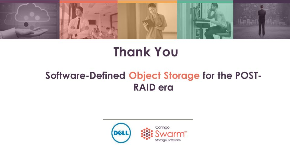 Software-Defined Object Storage for the POST-RAID era