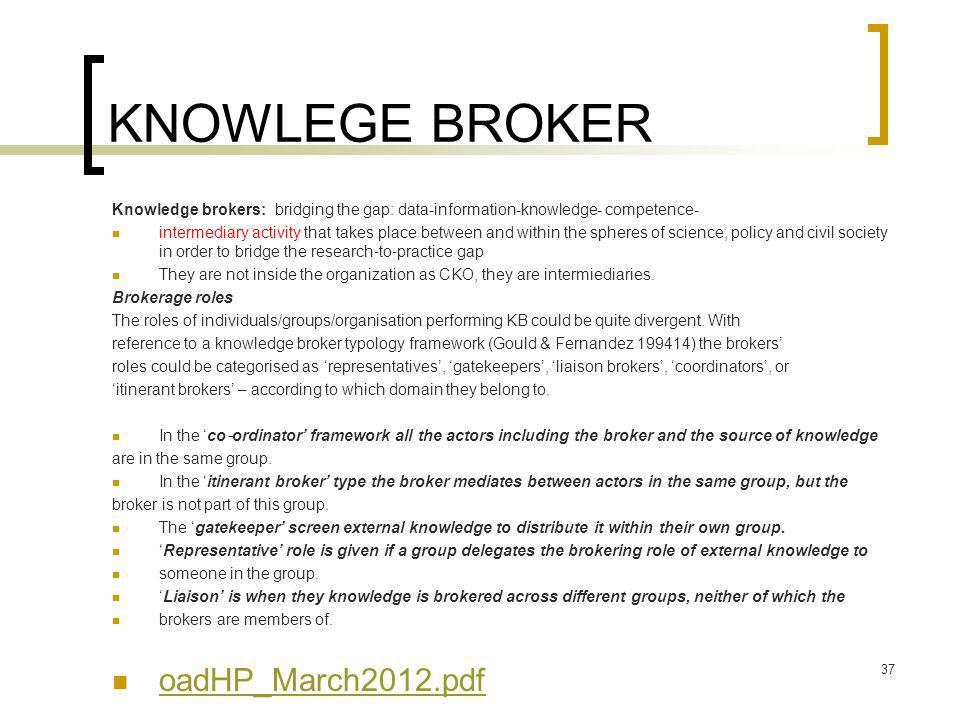 KNOWLEGE BROKER oadHP_March2012.pdf
