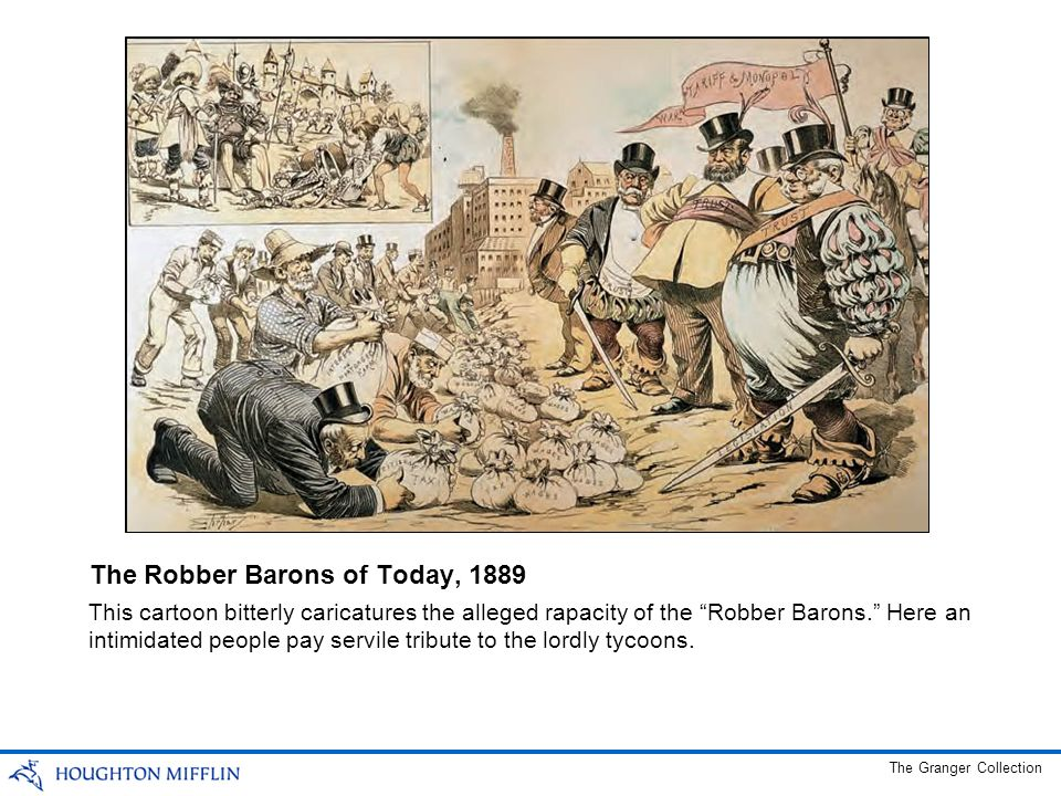 The Robber Barons of Today, 1889