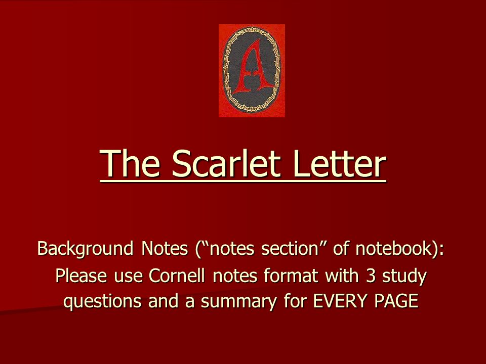 Background Notes ( notes section of notebook):