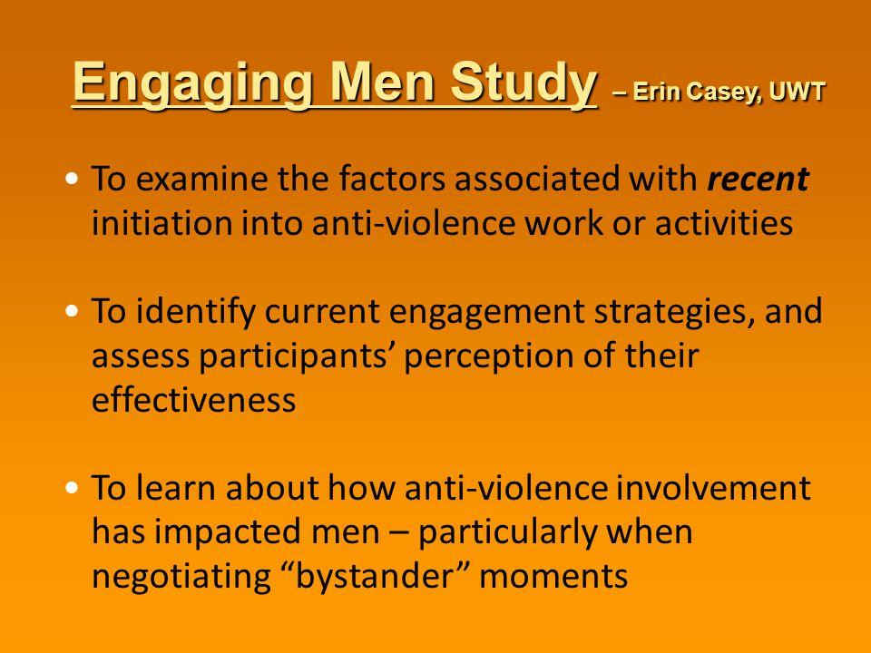 Engaging Men Study – Erin Casey, UWT