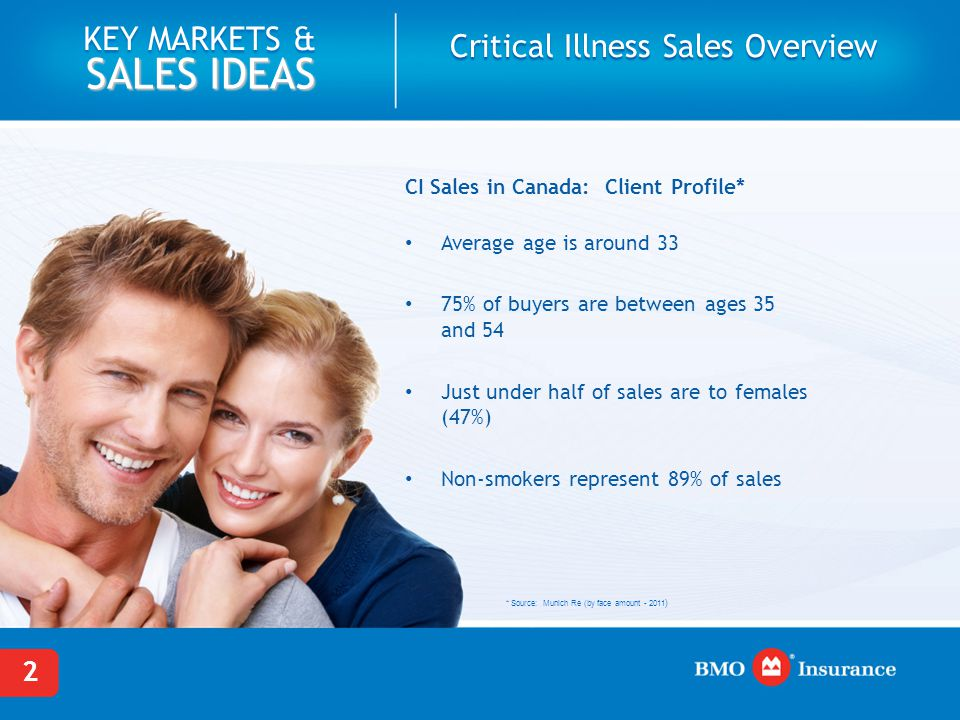 Critical Illness Sales Overview