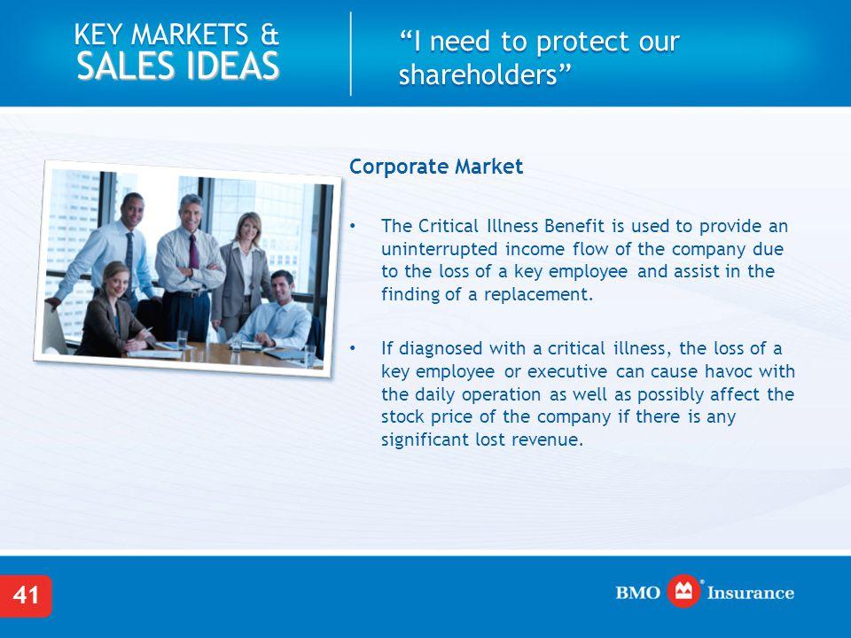 Corporate Market: Case Study
