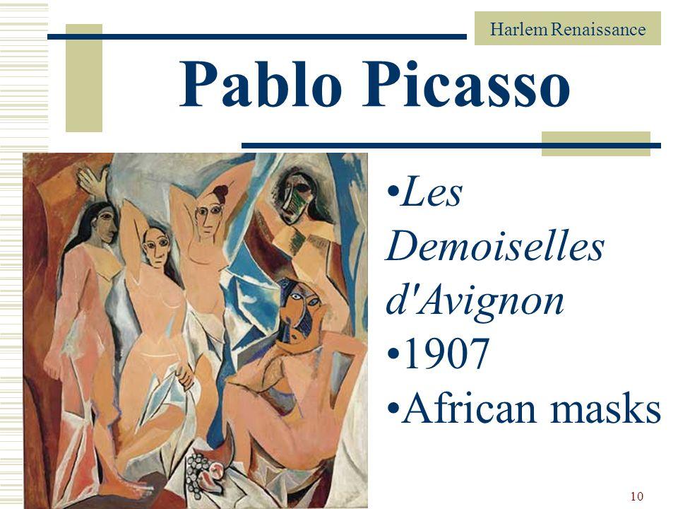 Pablo Picasso Les Demoiselles d Avignon 1907 African masks