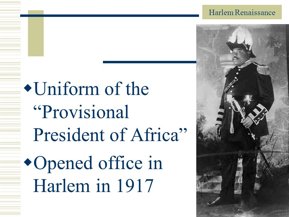 Uniform of the Provisional President of Africa