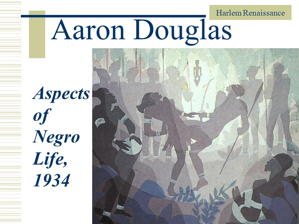 Aaron Douglas Aspects of Negro Life, 1934