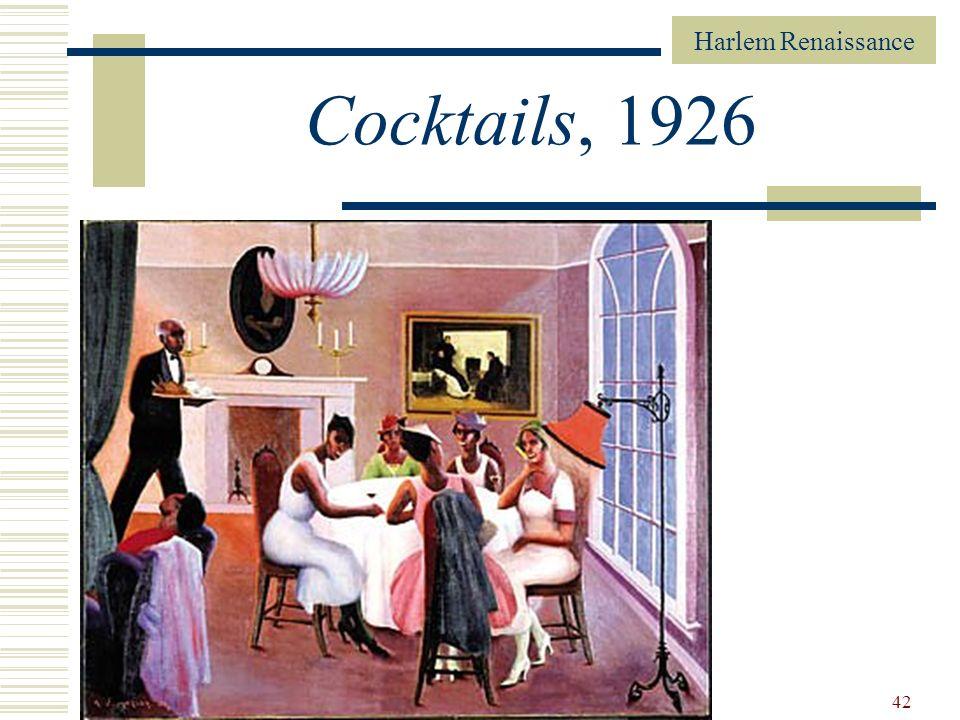 Cocktails, 1926