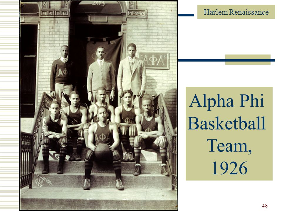 Alpha Phi Alpha Basketball Team, 1926