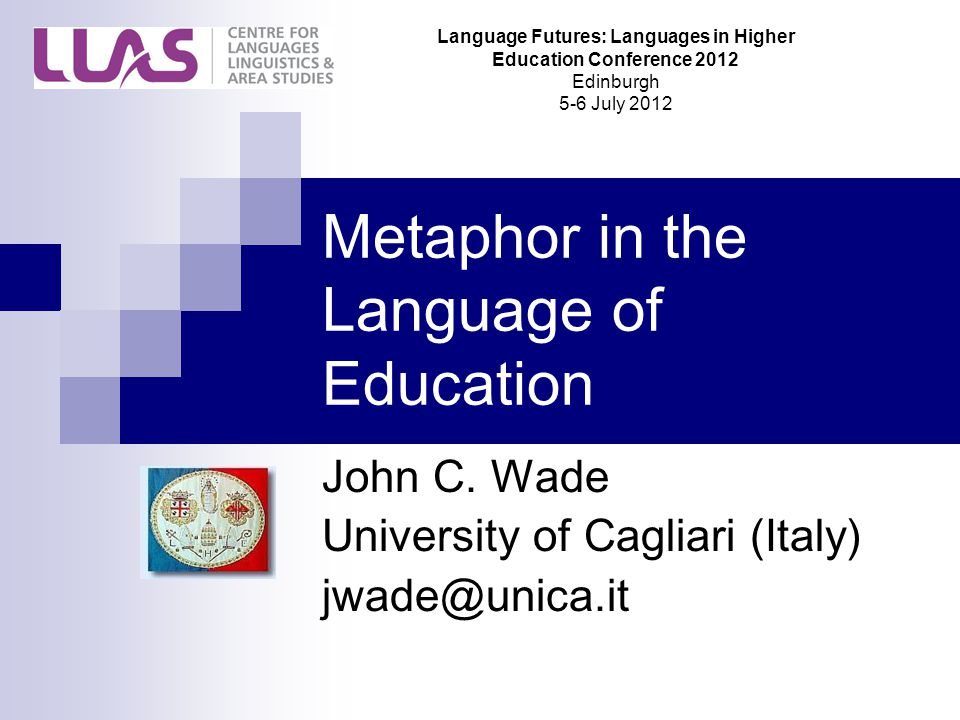 Metaphor in the Language of Education