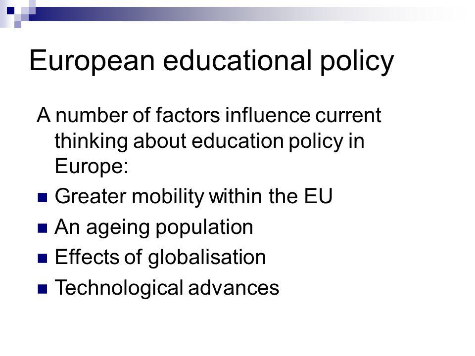 European educational policy