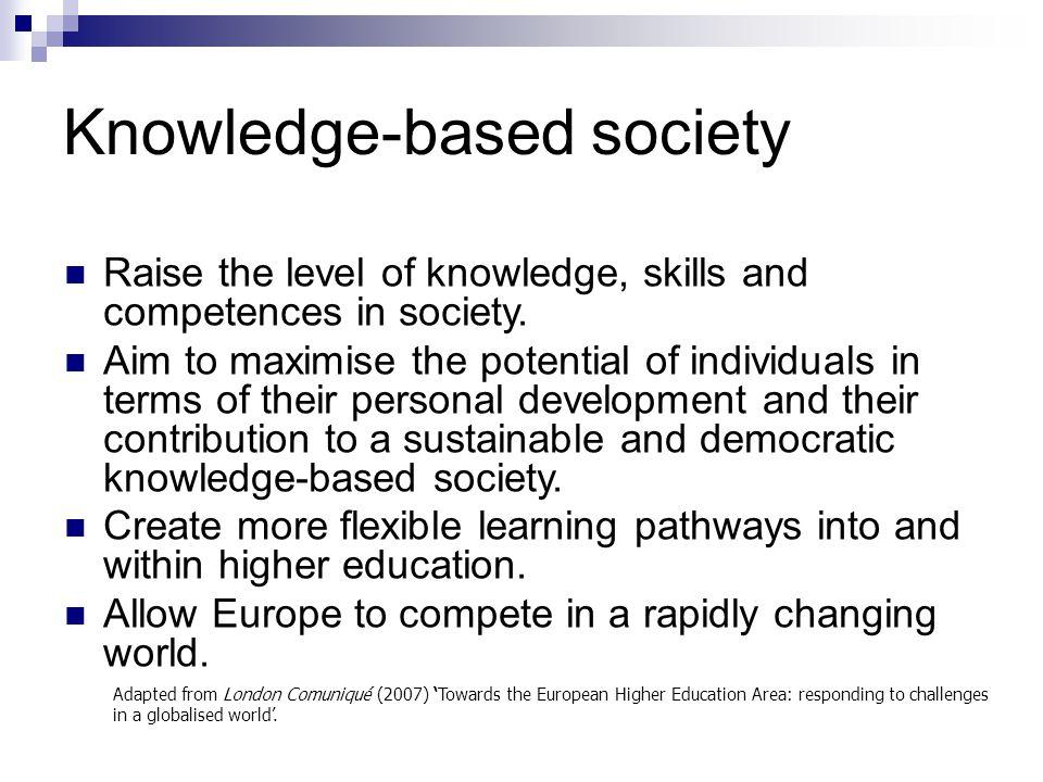 Knowledge-based society