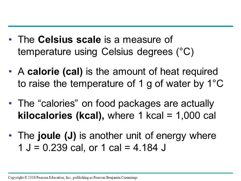 The Celsius scale is a measure of temperature using Celsius degrees (°C)