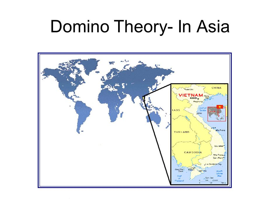 Domino Theory- In Asia