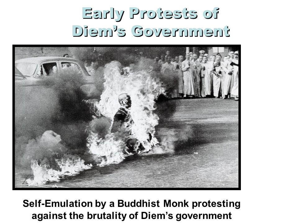 Early Protests of Diem's Government
