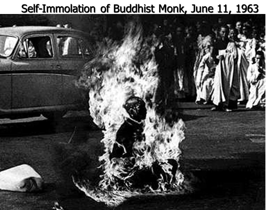 Self-Immolation of Buddhist Monk, June 11, 1963