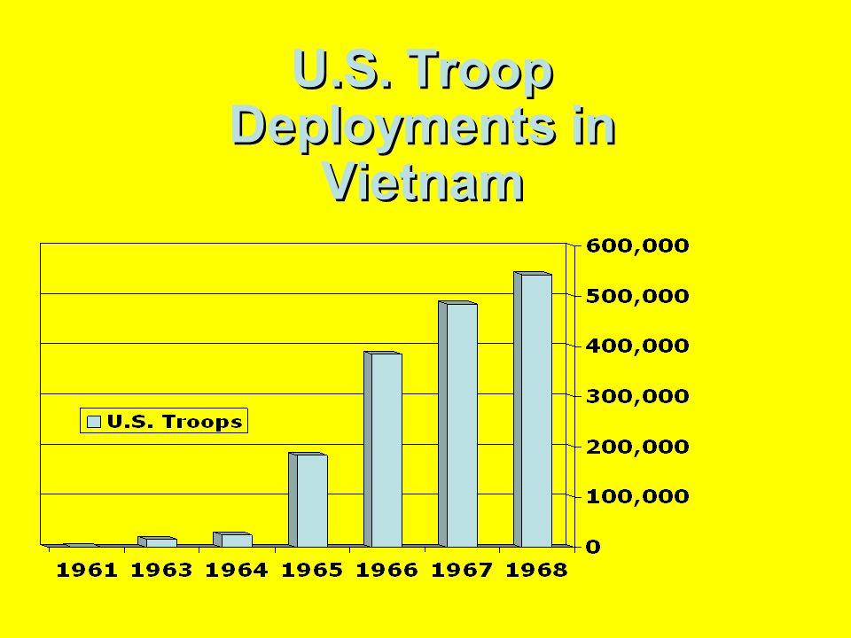 U.S. Troop Deployments in Vietnam
