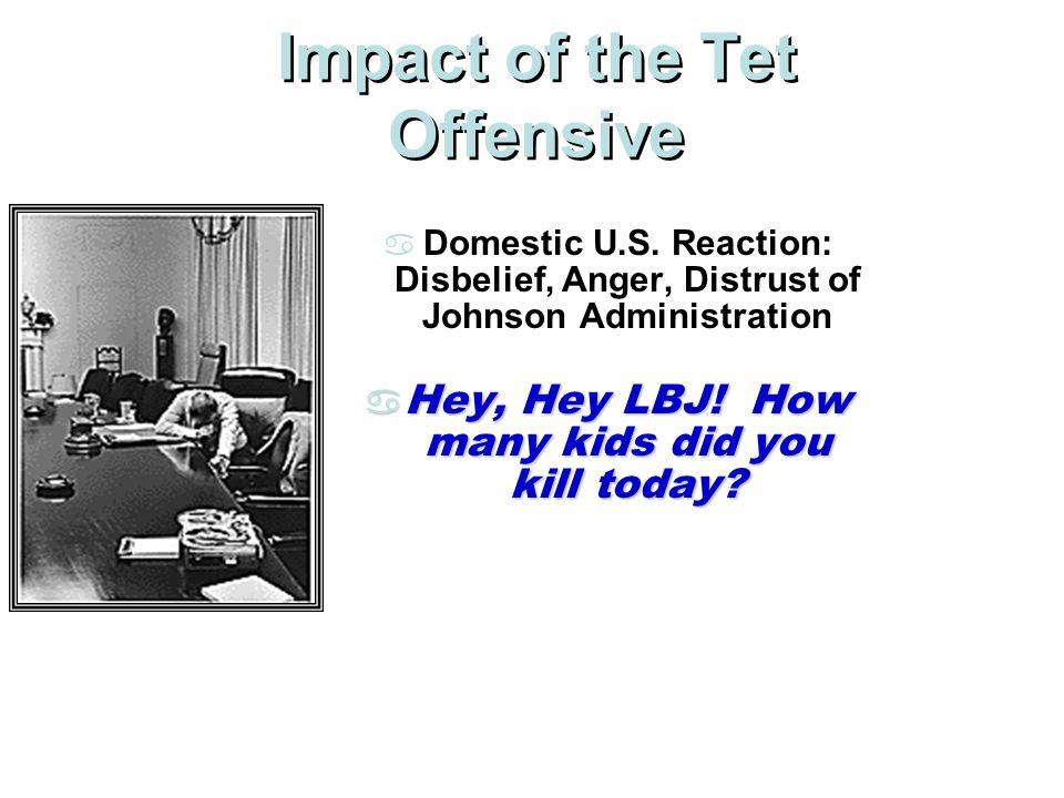 Impact of the Tet Offensive