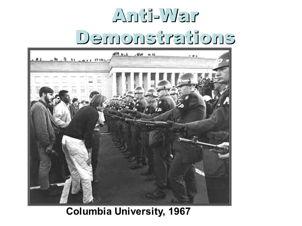 Anti-War Demonstrations