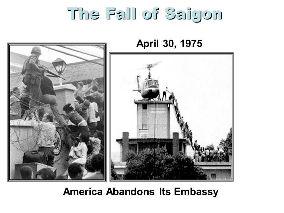 America Abandons Its Embassy