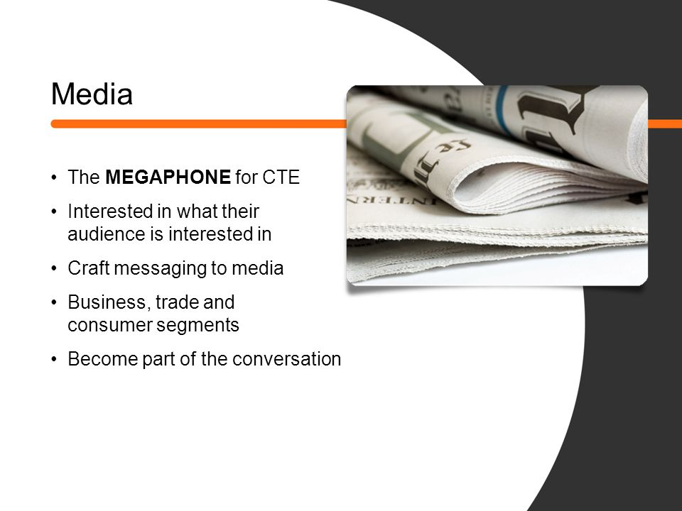 Media The MEGAPHONE for CTE