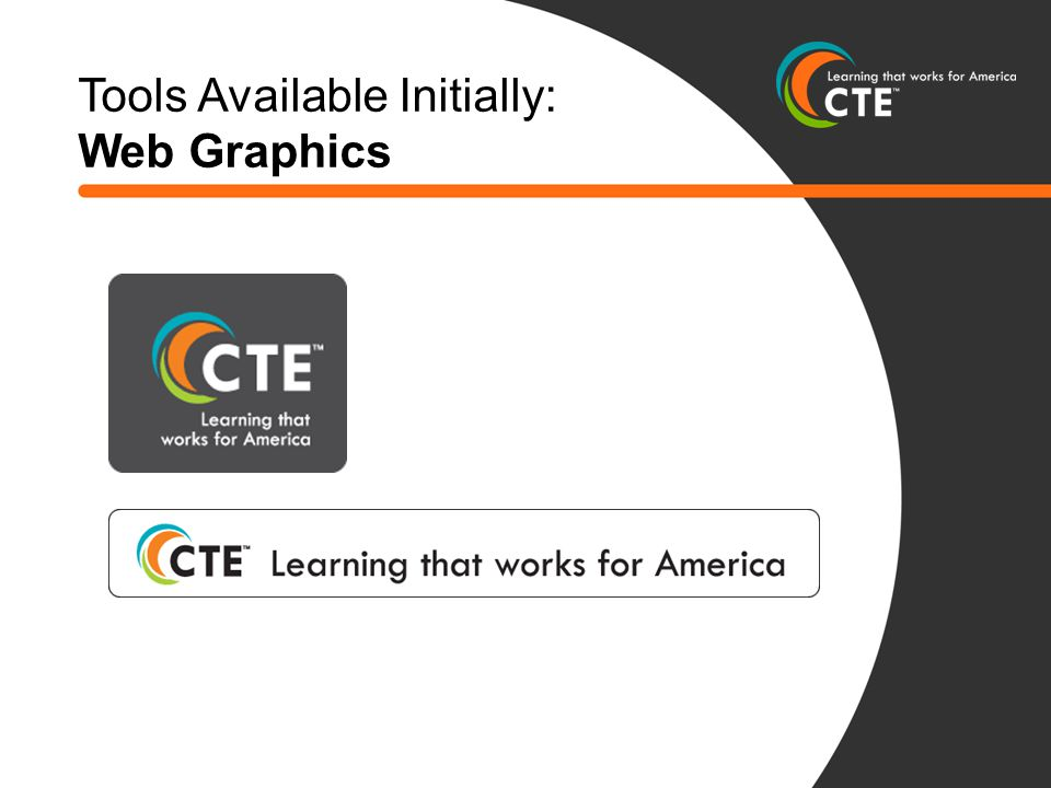 Tools Available Initially: Web Graphics