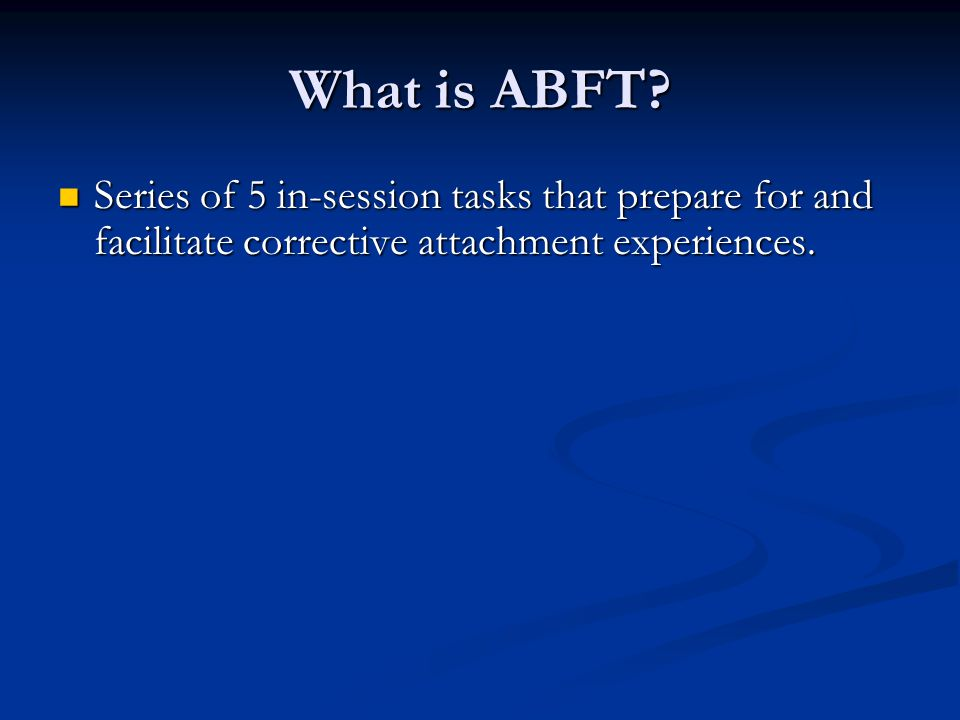 What is ABFT.