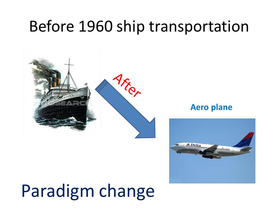 Before 1960 ship transportation