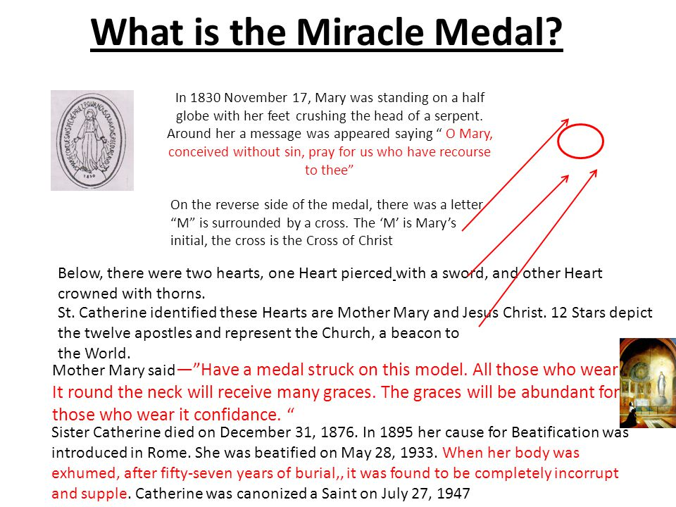 What is the Miracle Medal