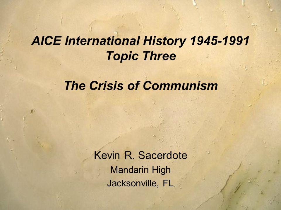 Kevin R. Sacerdote Mandarin High Jacksonville, FL