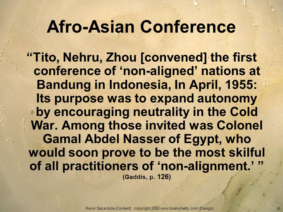 Afro-Asian Conference