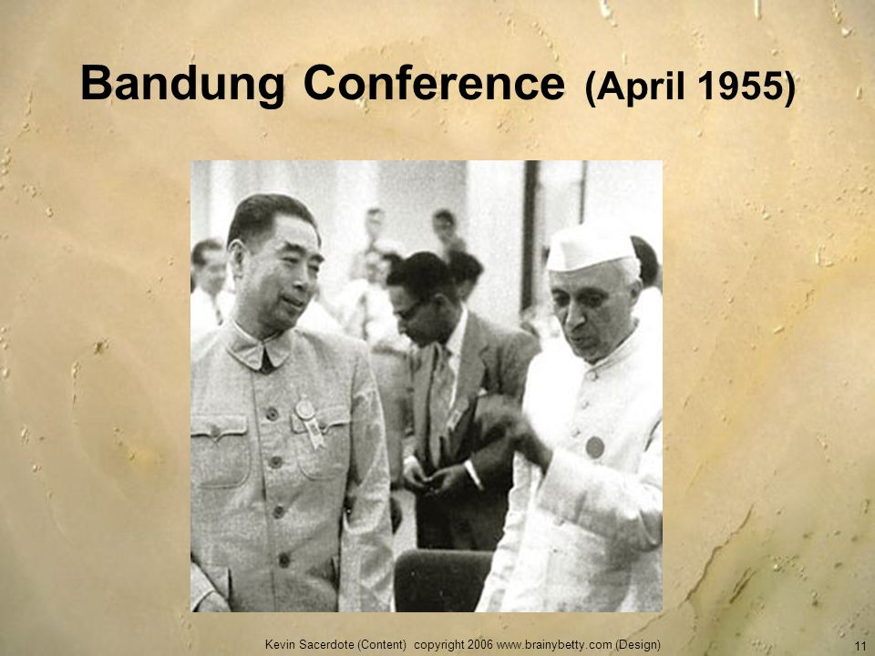 Bandung Conference (April 1955)