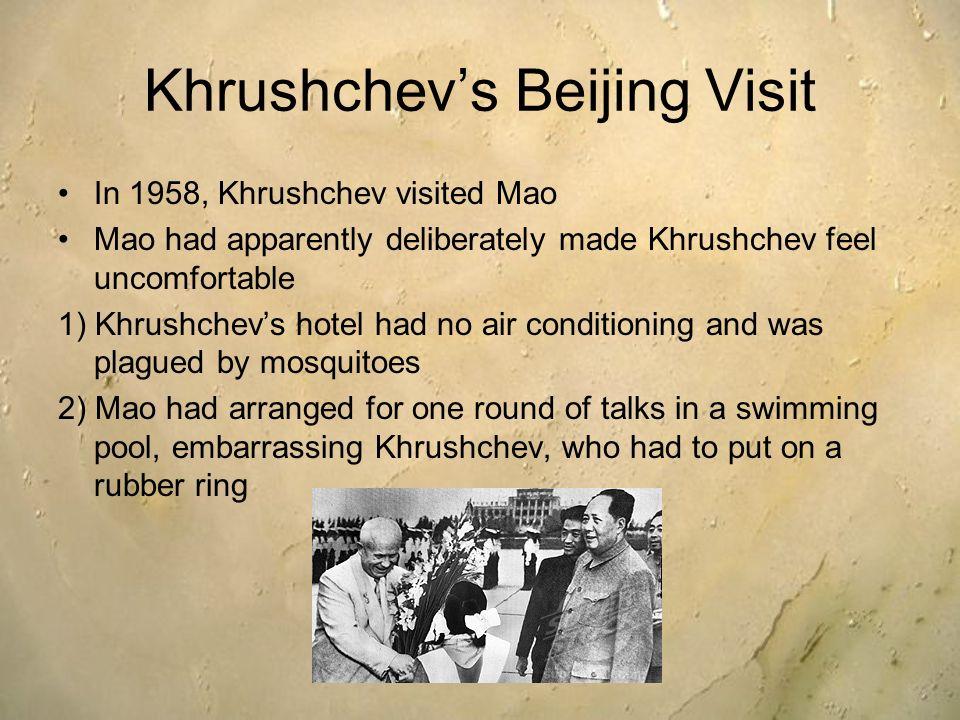 Khrushchev's Beijing Visit