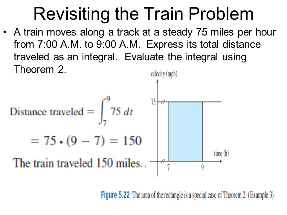 Revisiting the Train Problem