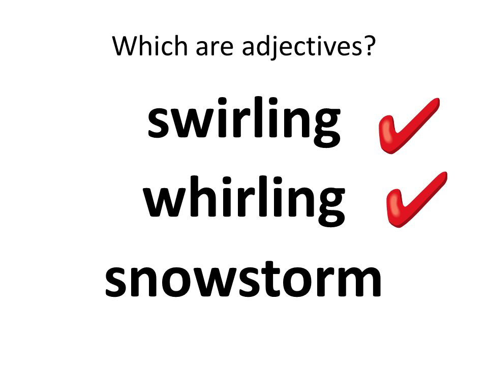 swirling whirling snowstorm