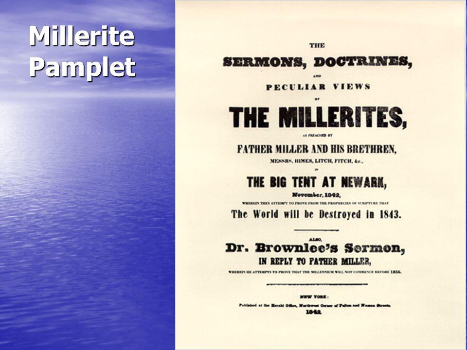 Millerite Pamplet