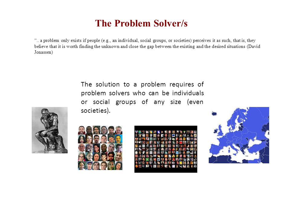 The Problem Solver/s