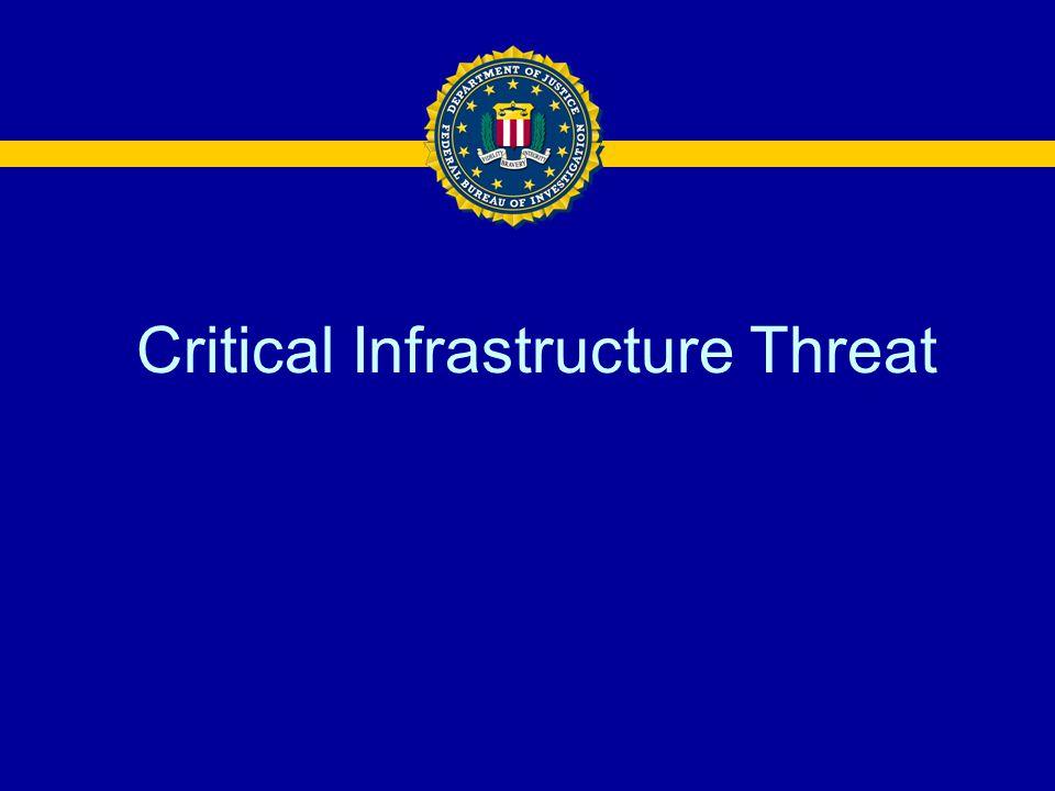 Critical Infrastructure Threat